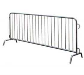 4' x 8' Bike Barricade Metal