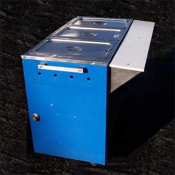 Steam Table, 3 Compartment (Propane)