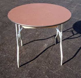 "36"" Round Tables"