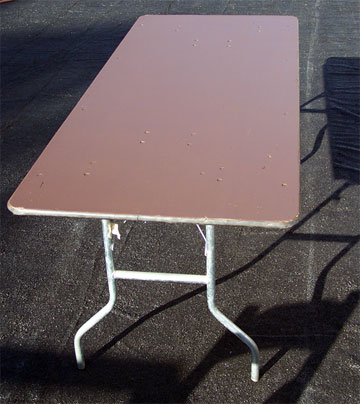 "6'x30"" Banquet Tables"