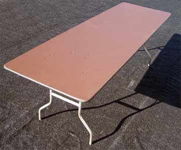 "8'x40"" Banquet Tables"