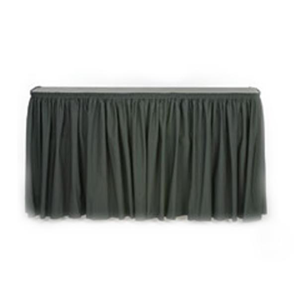 Table Bar with Skirt, 6'