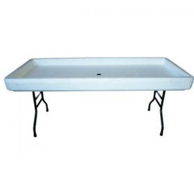 6' Chiller Table (Folding Legs)