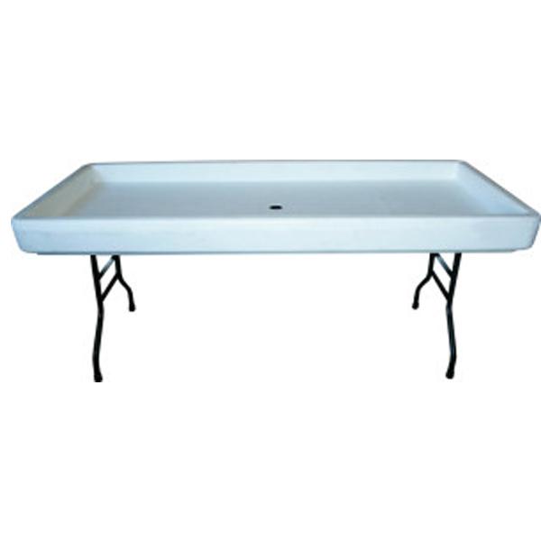 6' Chiller Table (Folding Legs)