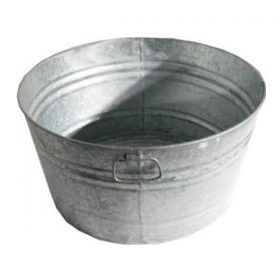 Galvanized Tub, 30 Gallon