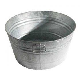 Galvanized Tub, 30 Gallon