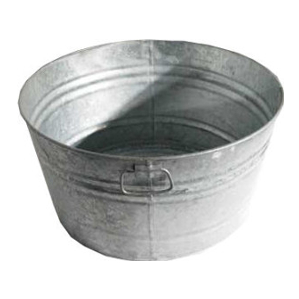 Galvanized Tub 17 Gallon Allie S Party Equipment Rentals