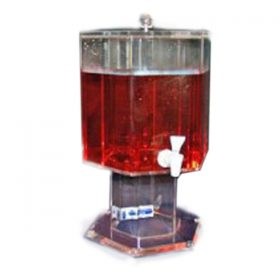 Acrylic Beverage Dispenser, 5 Gallon