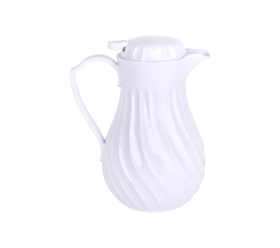 Coffee Thermal Carafe, 8 Cup, White