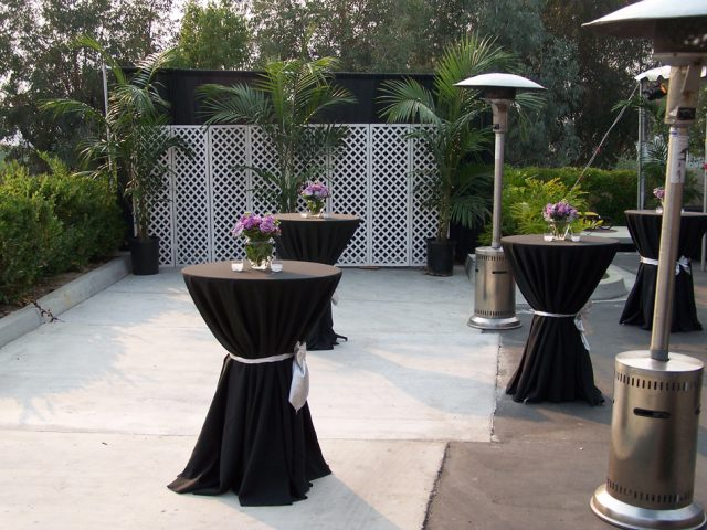 """30"""" Round Tables (42"""" High Belly Bar)"""