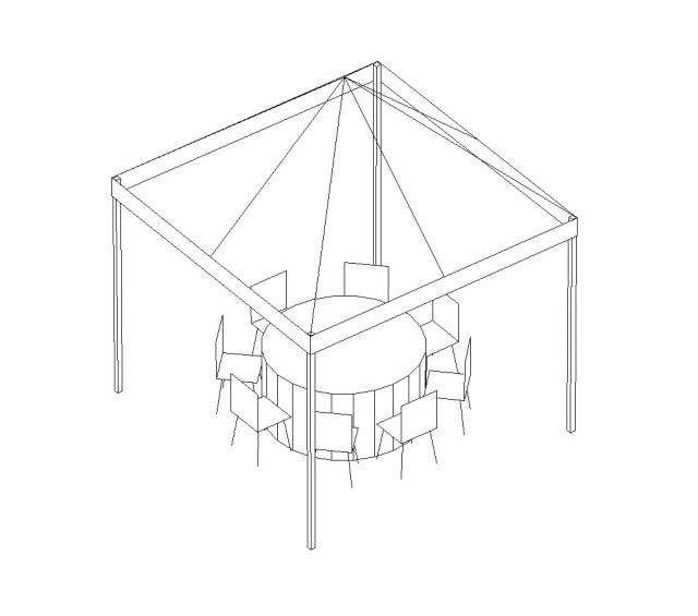 White Pop-Up Canopy, 10'X10'