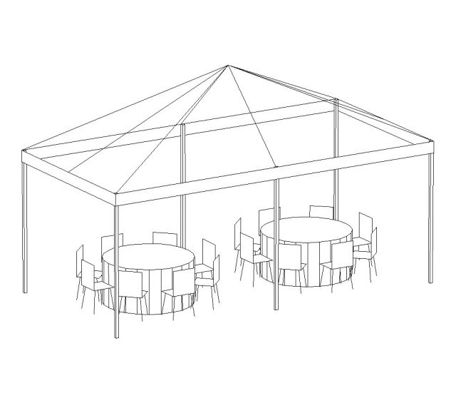 Pop-Up Canopy, 10'X20' White