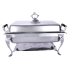 Rectangle Deluxe Chafer, 8qt. Stainless