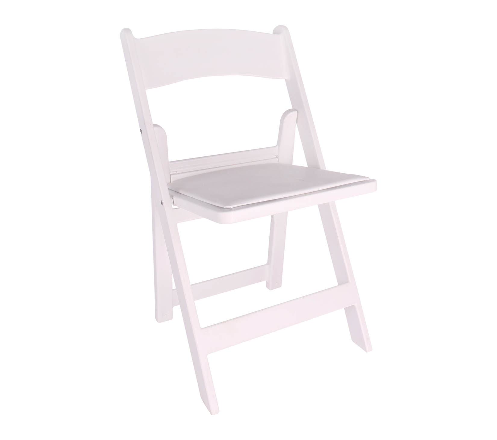 Swell Chair White Resin Folding Chair With Padded Seat Squirreltailoven Fun Painted Chair Ideas Images Squirreltailovenorg
