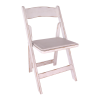 Chair, Wood Folding Shabby Chic