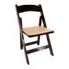 Chair, Fruitwood Folding