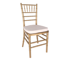 Chair, Gold Chiavari with Cushion