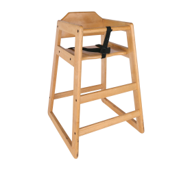 Chair, Children's Wooden Highchair