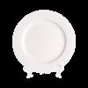 """White China, Chop Plate 12"""""""