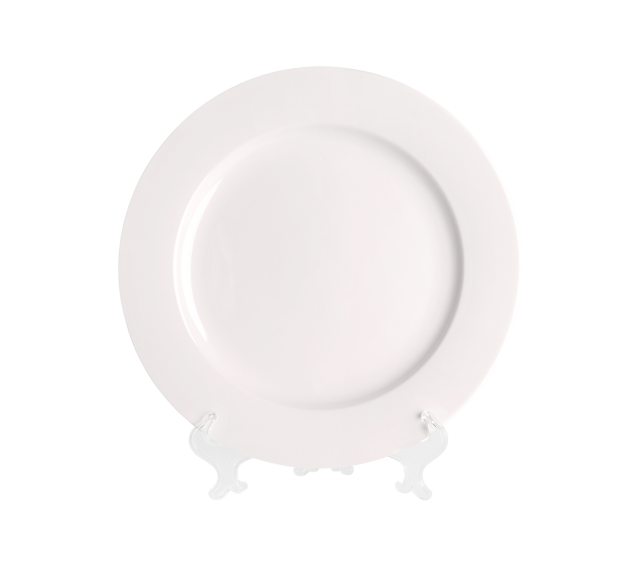 White China, Chop Plate 12""