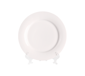 "White China, Dinner Plate 10"""