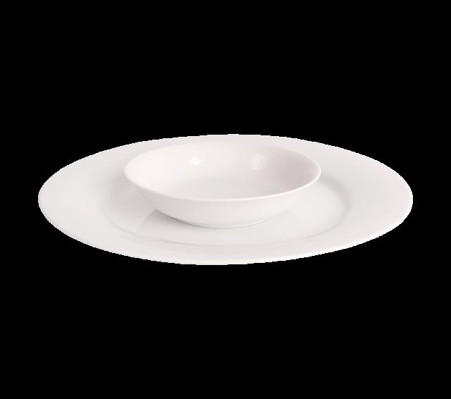 """White China, Fruit Bowl 5"""""""