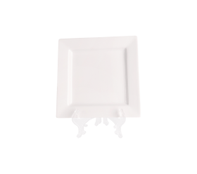 White Square, Salad Plate 8""