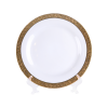 "Grand Gold Border, Salad Plate 8"""
