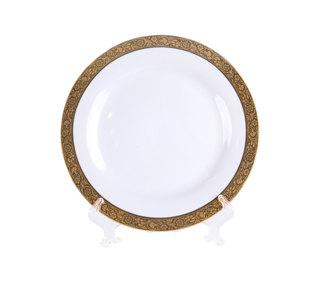 Grand Gold Border, Salad Plate 8""