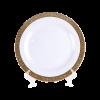 """Grand Gold Border, Dinner Plate 10"""""""