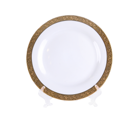 Grand Gold Border, Dinner Plate 10""
