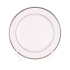"Ivory with Gold Border, 10"" Dinner Plate"