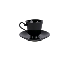 Black China, Coffee Saucer