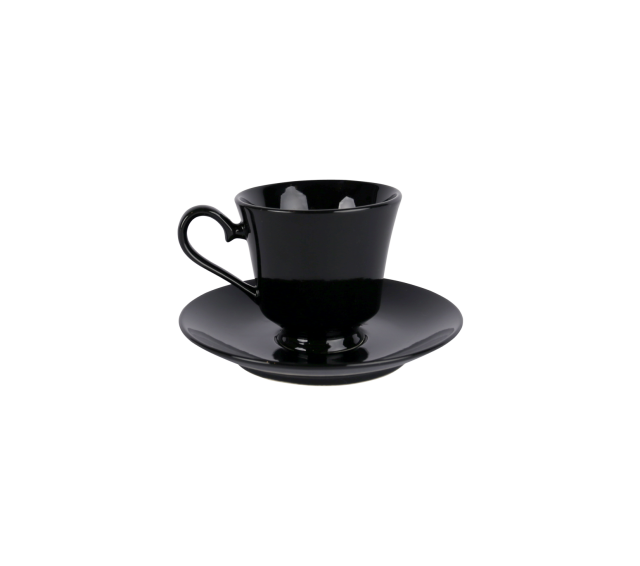 Black China, Coffee Saucer