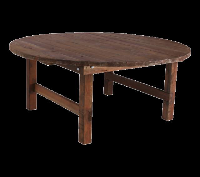 """72"""" Round Farm Table"""