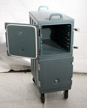 Double Transport Box with Wheels, Insulated