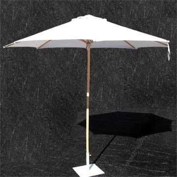 9.5' Market Umbrella with Freestanding Base