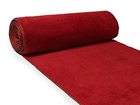 PURCHASE Red Carpet Runner, 6'Wx25'L