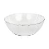 "10"" White Plastic Bowl"