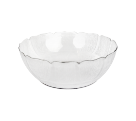 "10"" White Plastic Bowl"