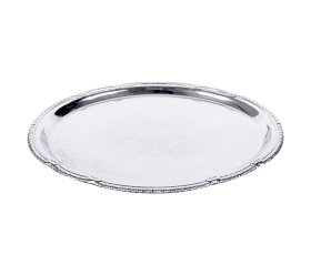 "Tray Oval Polished Stainless 13"" X 18"""