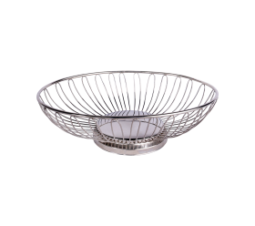 Bread Basket, Silver