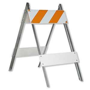 """""""A"""" Frame Barricade"""