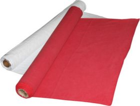 """Aisle Runner 30""""X75' (White or Red)"""
