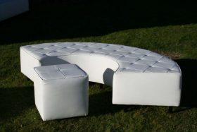 """Lounge Furniture, 17"""" X 17"""" Cube Seat"""