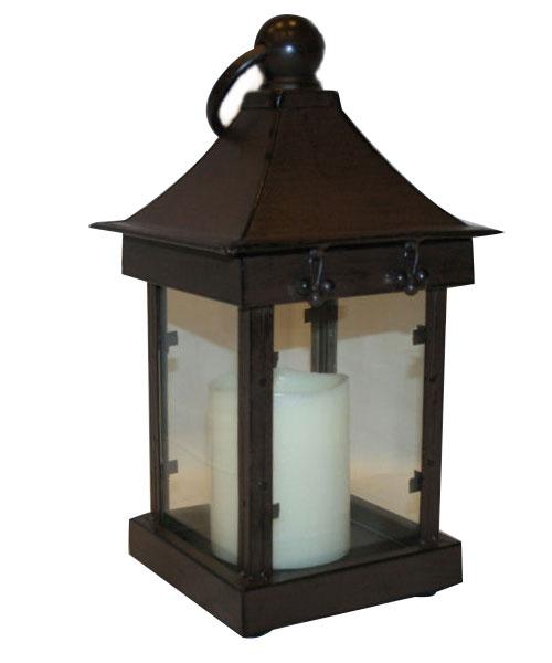 """Centerpiece, Antique Candle Lantern 16"""""""