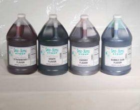 Sno-Kone Syrup, 1 Gallon